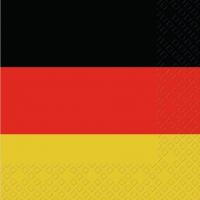 Servietten 33x33 cm - Deutschland