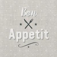 Servietten 33x33 cm - Appetit