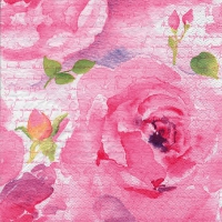 Servietten 24x24 cm - Rosa Delicada pink