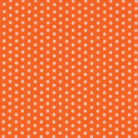 Servietten 24x24 cm - Bolas orange