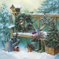 Servietten 33x33 cm - Wintergartenarbeit