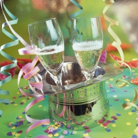 Servietten 33x33 cm - Fiesta de Ano Nuevo Nuevo