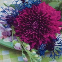 Lunch Servietten Dahlia&Cornflower