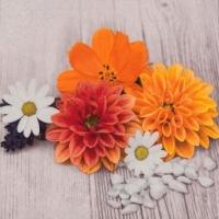 Lunch Servietten Flores de Madera