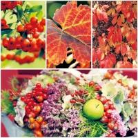 Lunch Servietten Red Collage