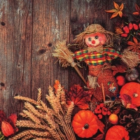 Lunch Servietten Scarecrow