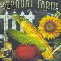 Lunch Servietten Vermont Farms - Sweet & Fresh