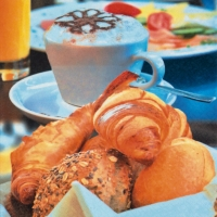 Servietten 33x33 cm - Breakfast Delights