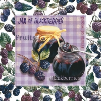 Lunch Servietten Jam of Blueberries