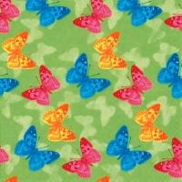 Servietten 33x33 cm - Papillon grün