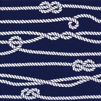 Servietten 33x33 cm - Marine Rope & Knots