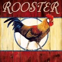 Lunch Servietten My little red Rooster