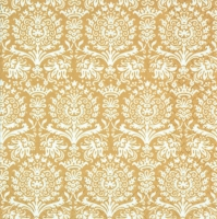 Servietten 33x33 cm - Royal Damask gold