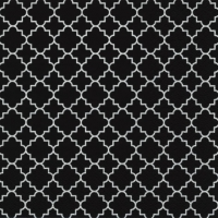 Lunch Servietten Quattrefoil Lattice black