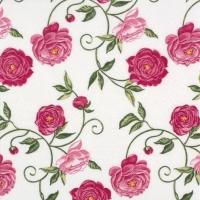 Servietten 33x33 cm - Peony pink