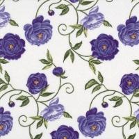 Servietten 24x24 cm - Peony lilac