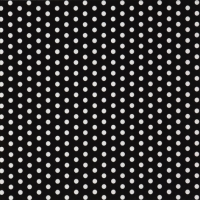 Servietten 33x33 cm - Bolas black