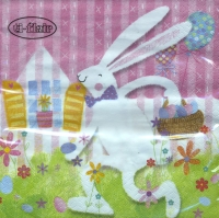 Servietten 33x33 cm - White Rabbit