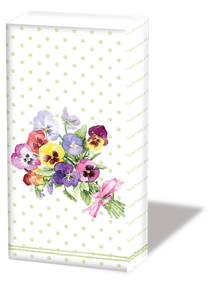 Taschentücher - Bund Veilchengrün