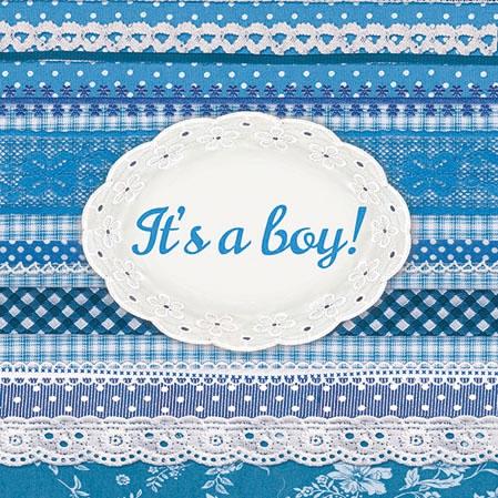 Servietten 25x25 cm - It´s Ein Junge