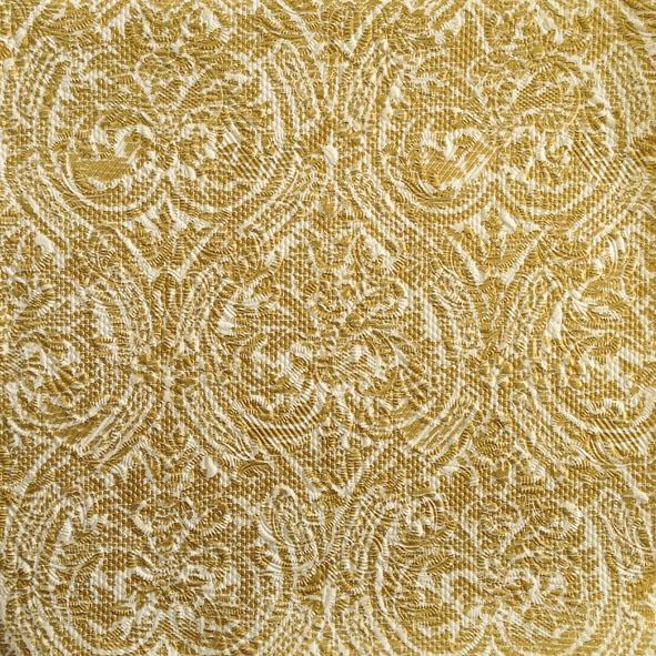 Servietten 33x33 cm - Elegance Stencil Gold