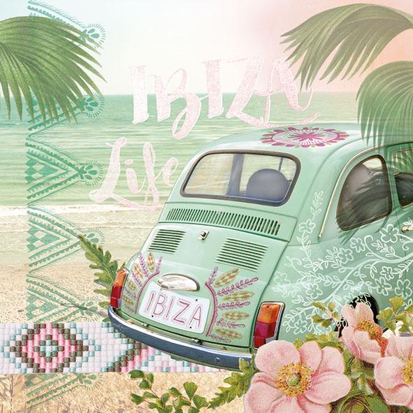 Servietten 33x33 cm - Ibiza Life