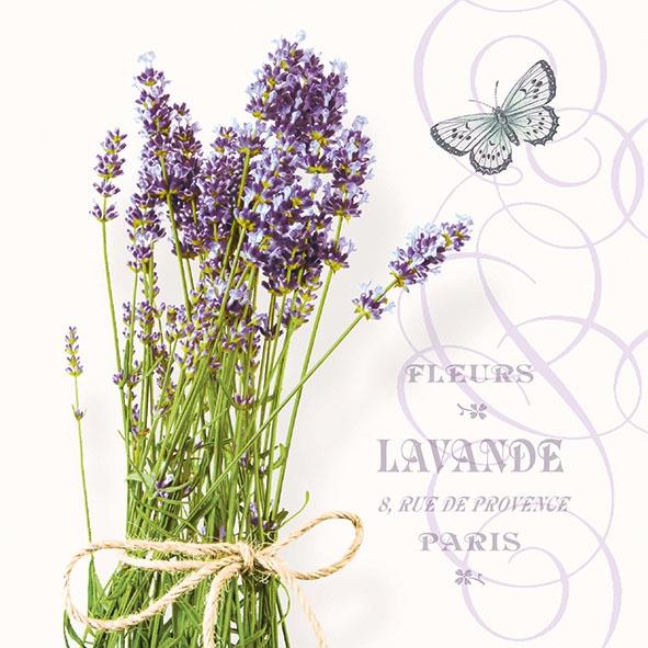 Servietten 33x33 cm - Bunch Of Lavender