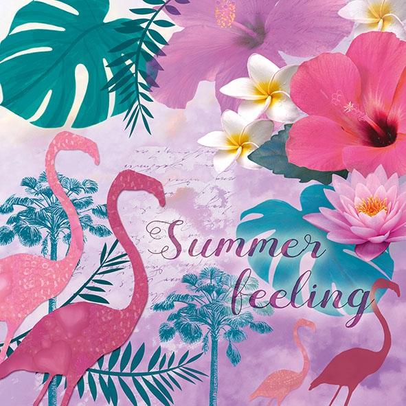 Servietten 33x33 cm - Summer Feeling