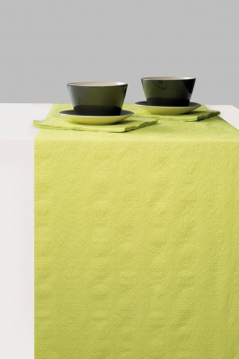 Tablerunners - Elegance Light Green