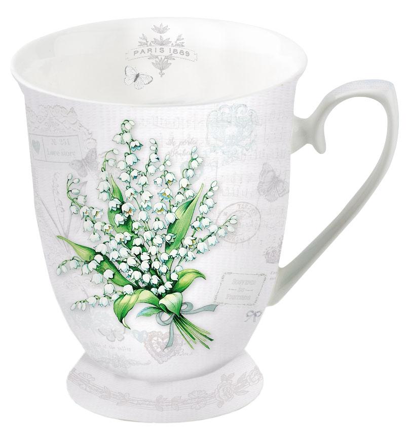 Porzellan-Tasse - Maiglöckchen