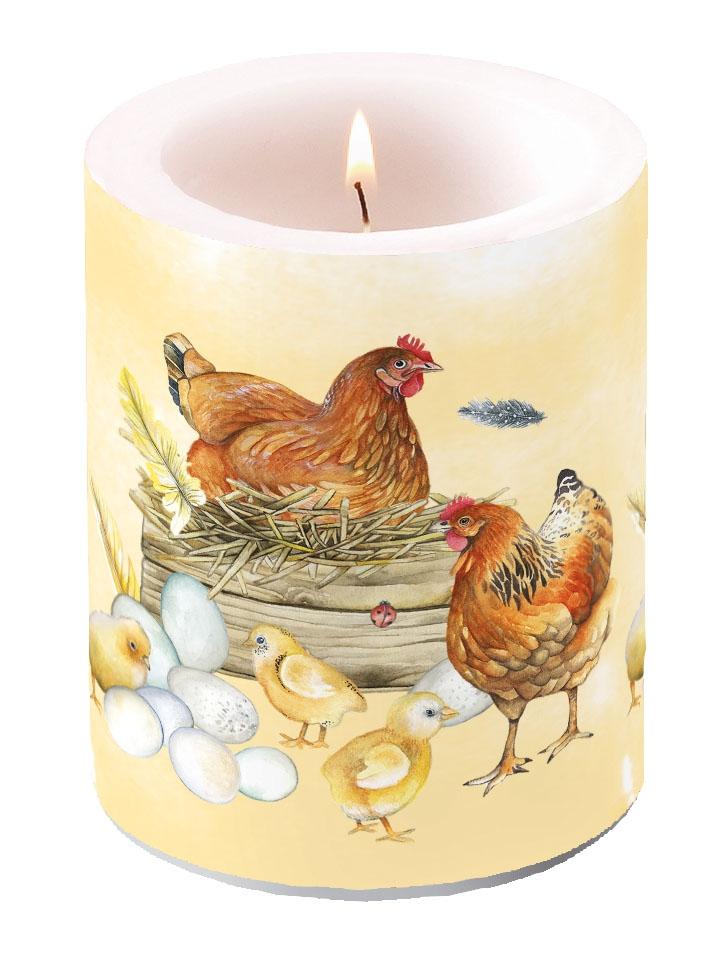Dekorkerze - Breeding Chicken