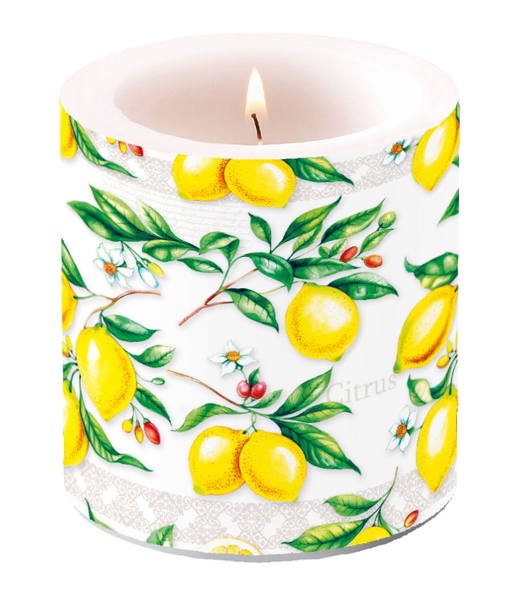 Dekorkerze klein - Citrus