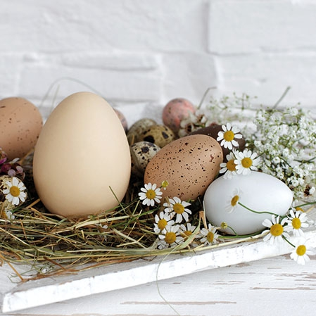 Servietten 25x25 cm - Pastel Eggs