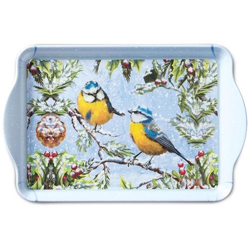 Tablett - 15X23cm Chirping Birds