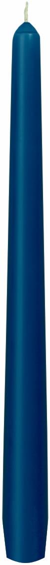Leuchterkerzen - dunkelblau