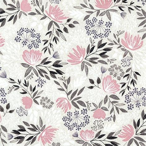 Servietten 33x33 cm - Floral Pattern Bohemian