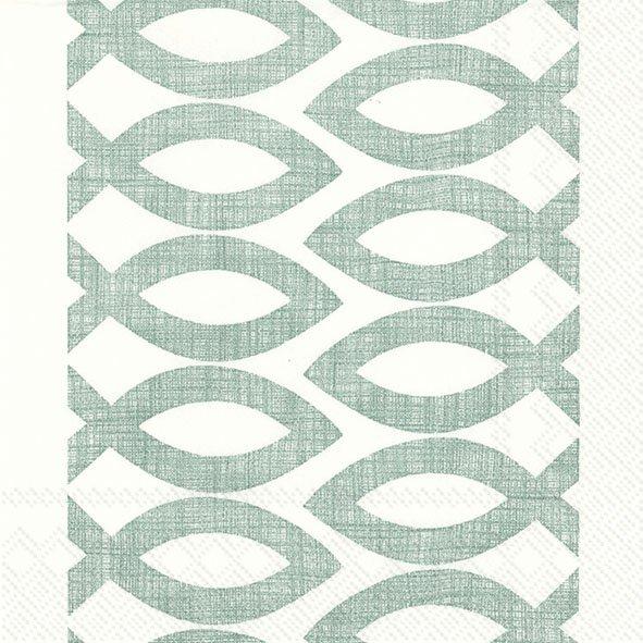 Servietten 25x25 cm - CEREMONIAL DAY grün
