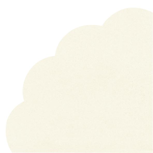 Servietten - Rund - UNI cream