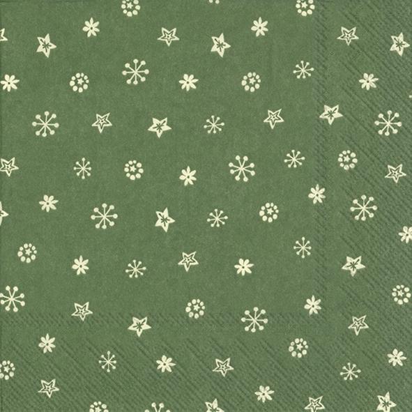 Servietten 33x33 cm - LITTLE JOY cream green