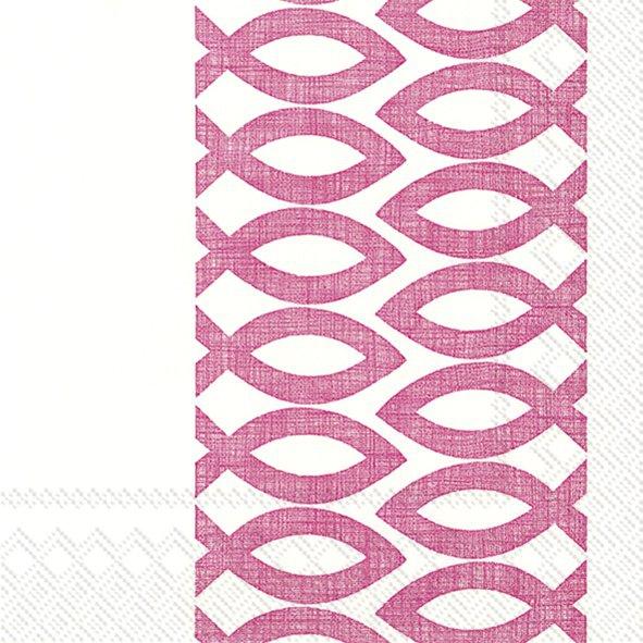 Servietten 33x33 cm - CEREMONIAL DAY rosa