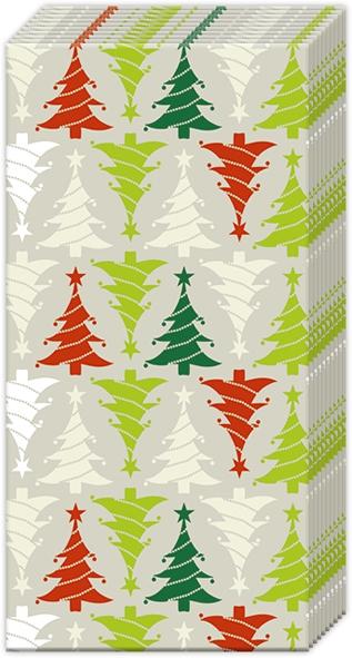 Taschentücher - TREES IN LINE linen