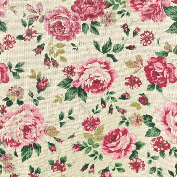 Lunch Servietten Rose Fabric