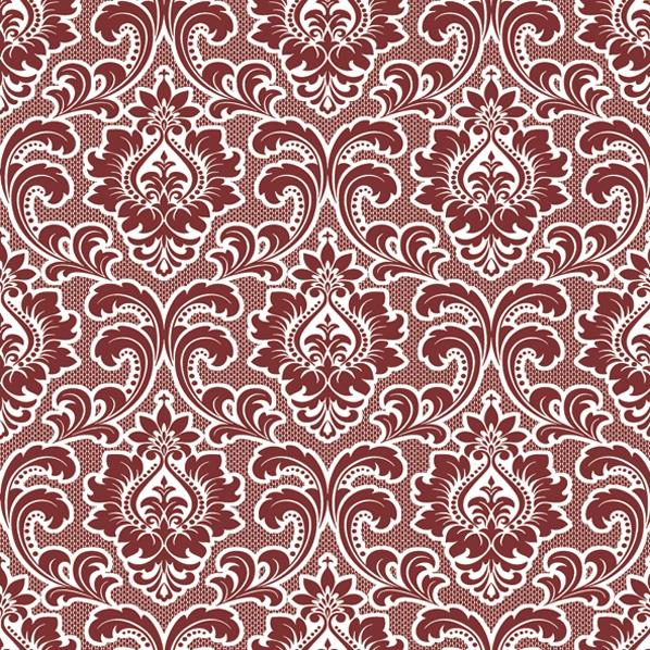 Servietten 33x33 cm - Tapete Muster Claret