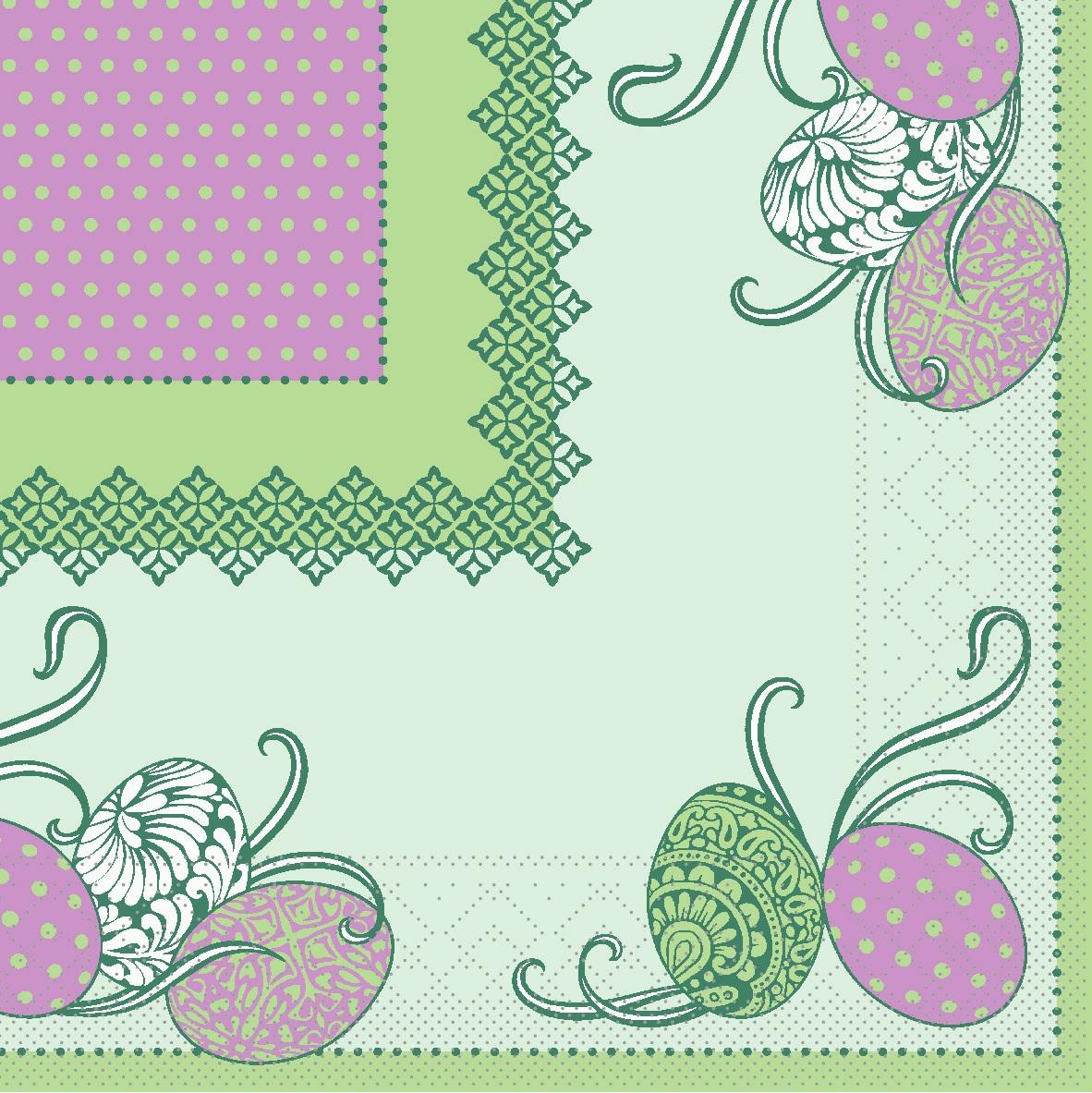 Tissue Servietten 33x33 cm - ANDY - gr̮