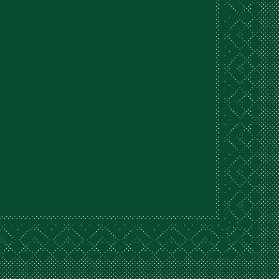 Tissue Servietten 33x33 cm - GRÜN
