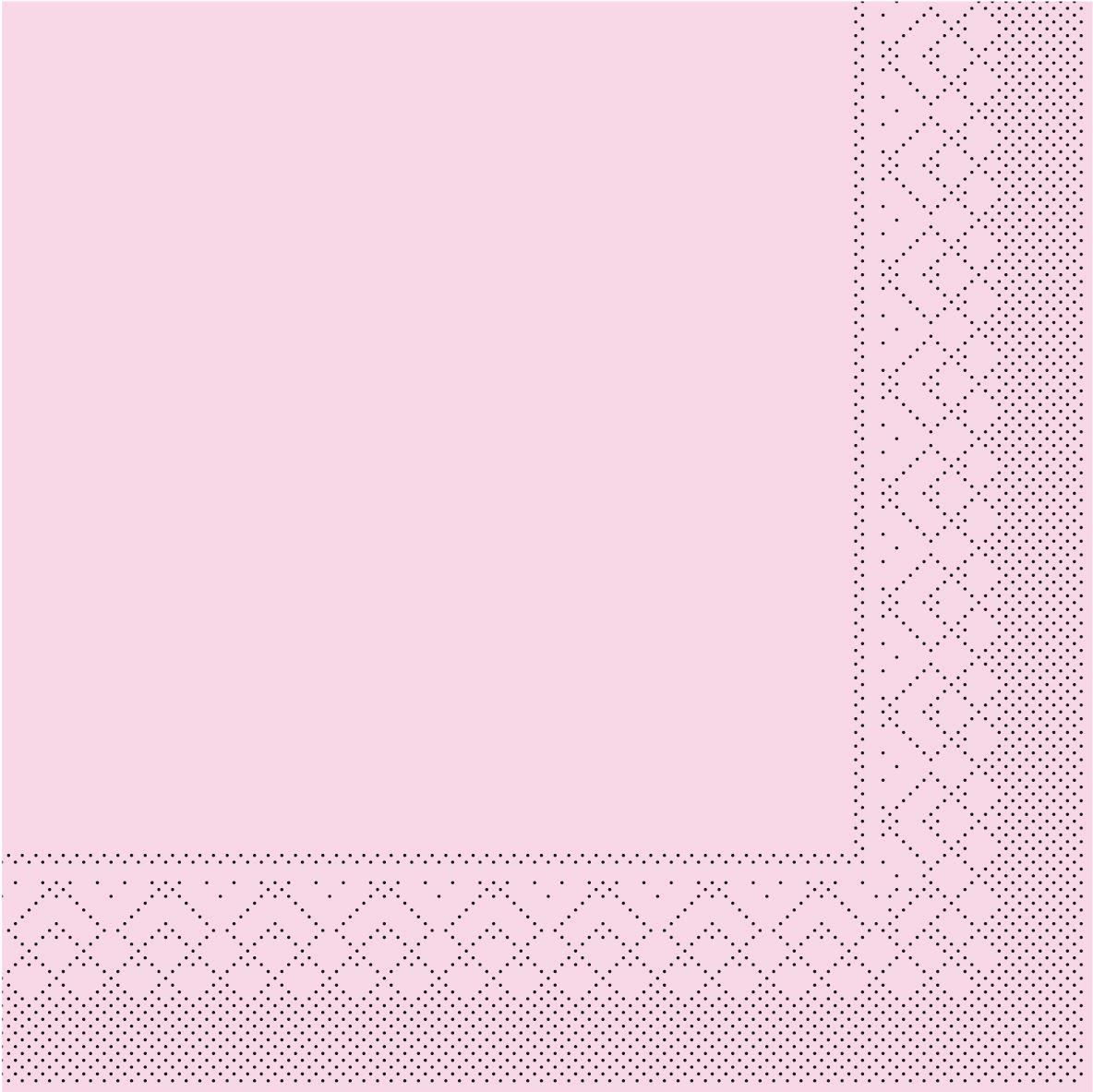 Tissue Servietten 33x33 cm - ROSA