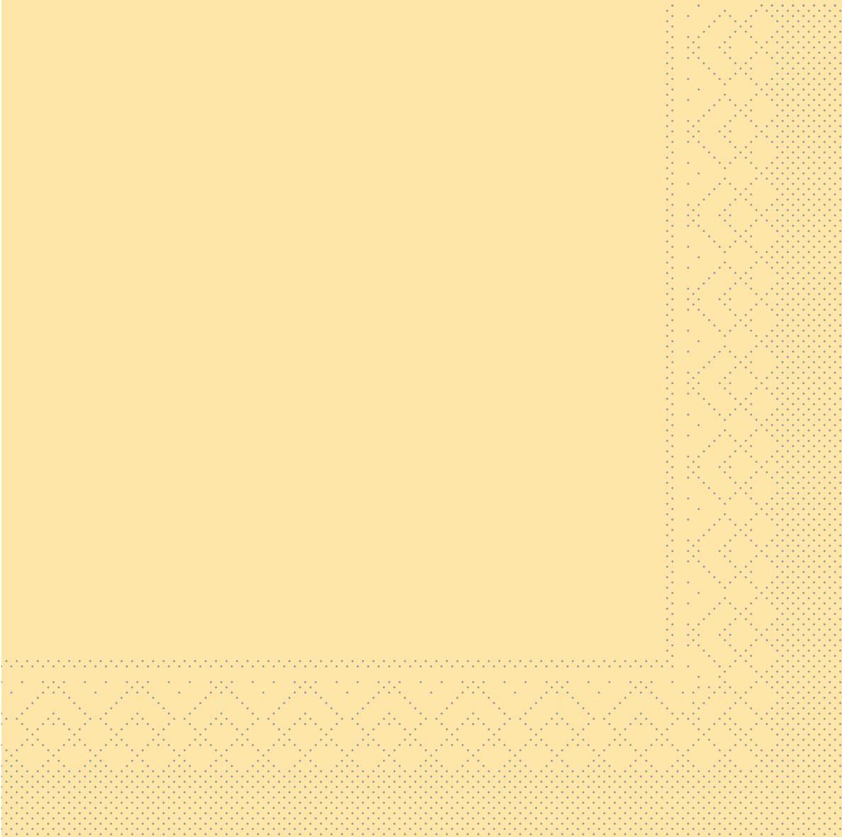 Tissue Servietten 33x33 cm - CREME