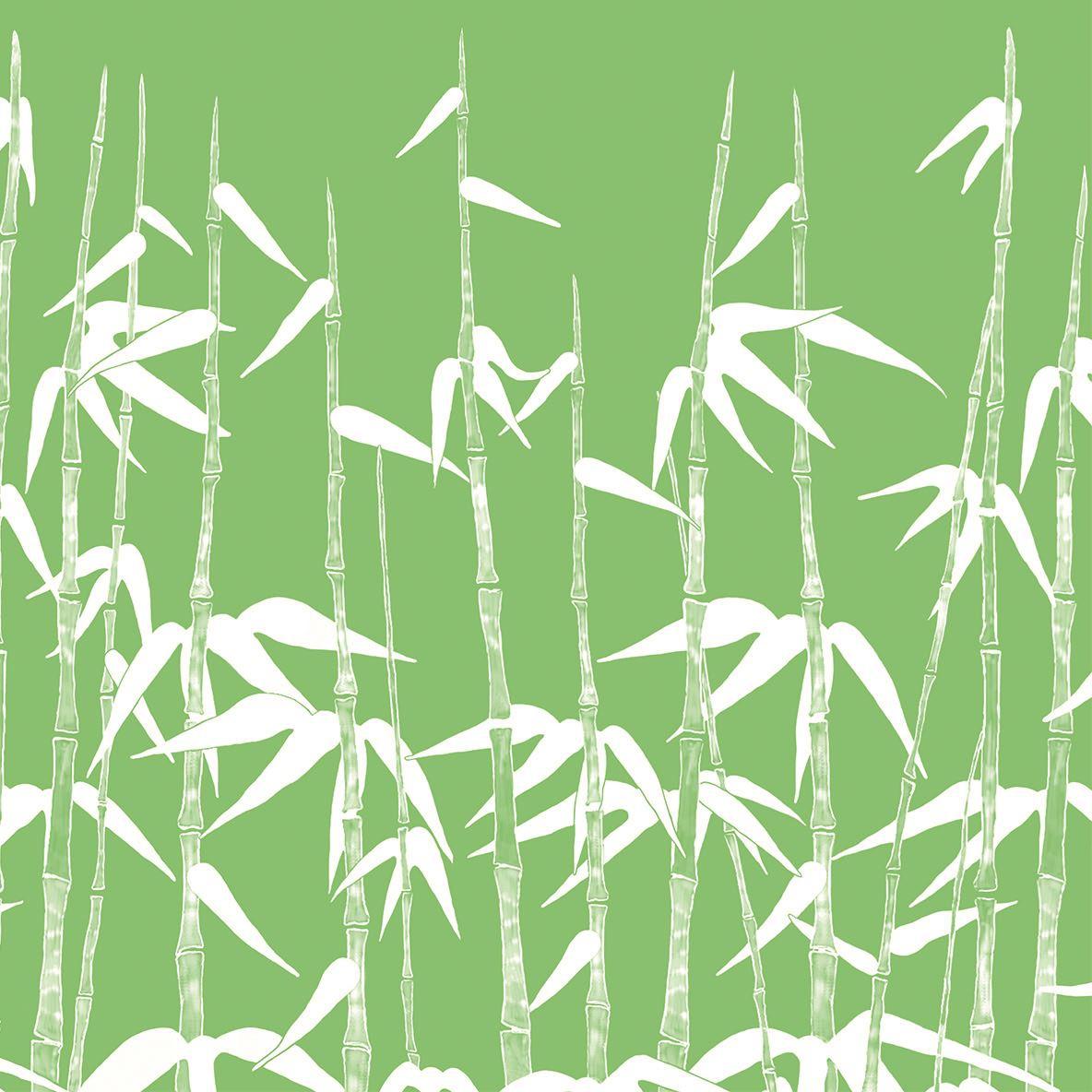 Linclass Servietten 40x40 cm - Green Bamboo  (Asia)