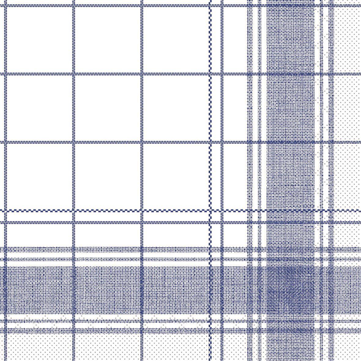Tissue Servietten 33x33 cm - Nadeem (blau)
