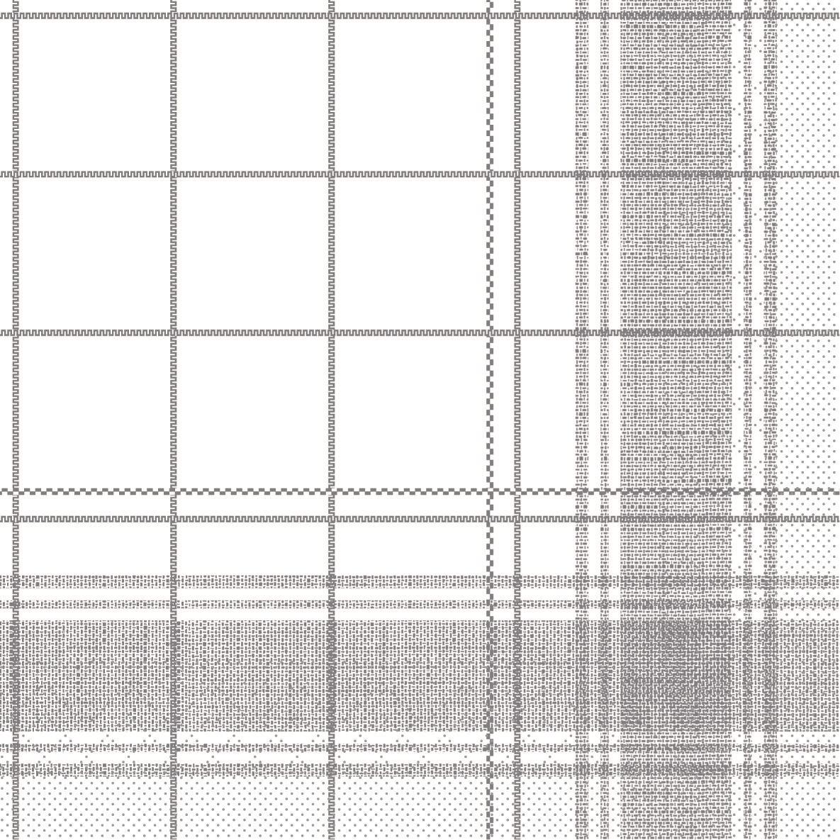 Tissue Servietten 33x33 cm - Nadeem (grau)